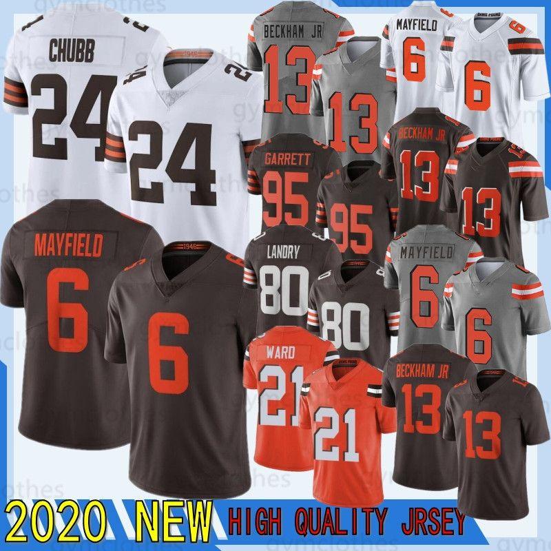24 Nick Chubb 13 Odell Beckham Jr 6 Baker Mayfield 80 Jarvis Landry 95 Myles Garrett 2021 Jerseys 21 Denzel Ward 73 Joe Thomas