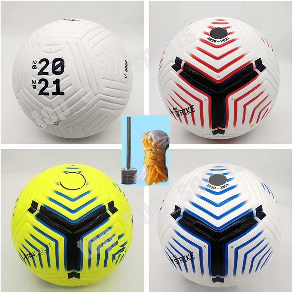 New Club League 2020 2021 Size 5 Balls soccer Ball high-grade nice match liga premer 20 21 football balls (Ship the balls without air)
