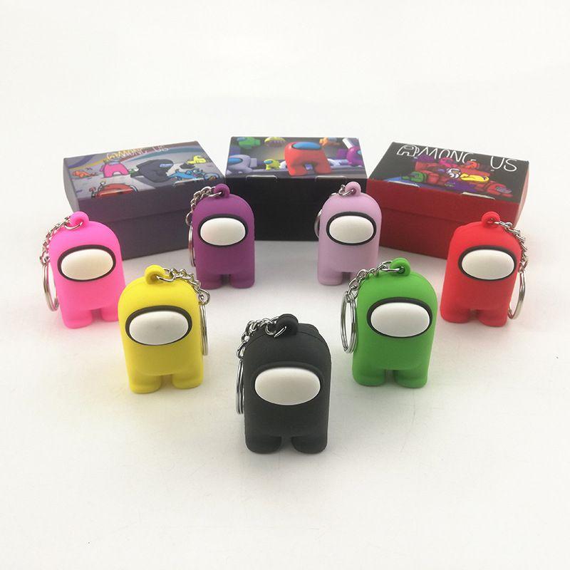 ألعاب الأفلام بين أرقام عمل الولايات المتحدة المفاتيح 5 سنتيمتر PVC الصلبة دمية اللعب لطيف الملحقات حلقة رئيسية