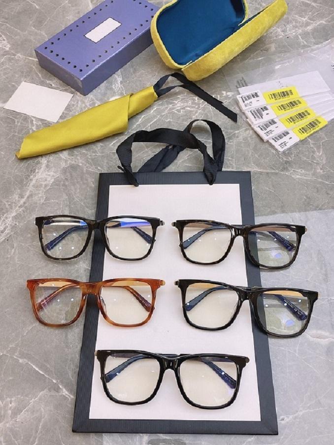 2021 جديد 0078 كبير مربع إطار الأزياء مزاجه الاتجاه الراقية جودة جوكر نظارات إطار حجم 56 * 17 * 145