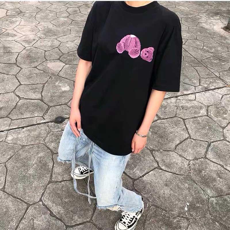 2021 Best Selling Moda Pareja Camiseta Hombres Manga corta de alta calidad T Cotton Threen Modelos Modelos Hombre Tendencia T Shirt