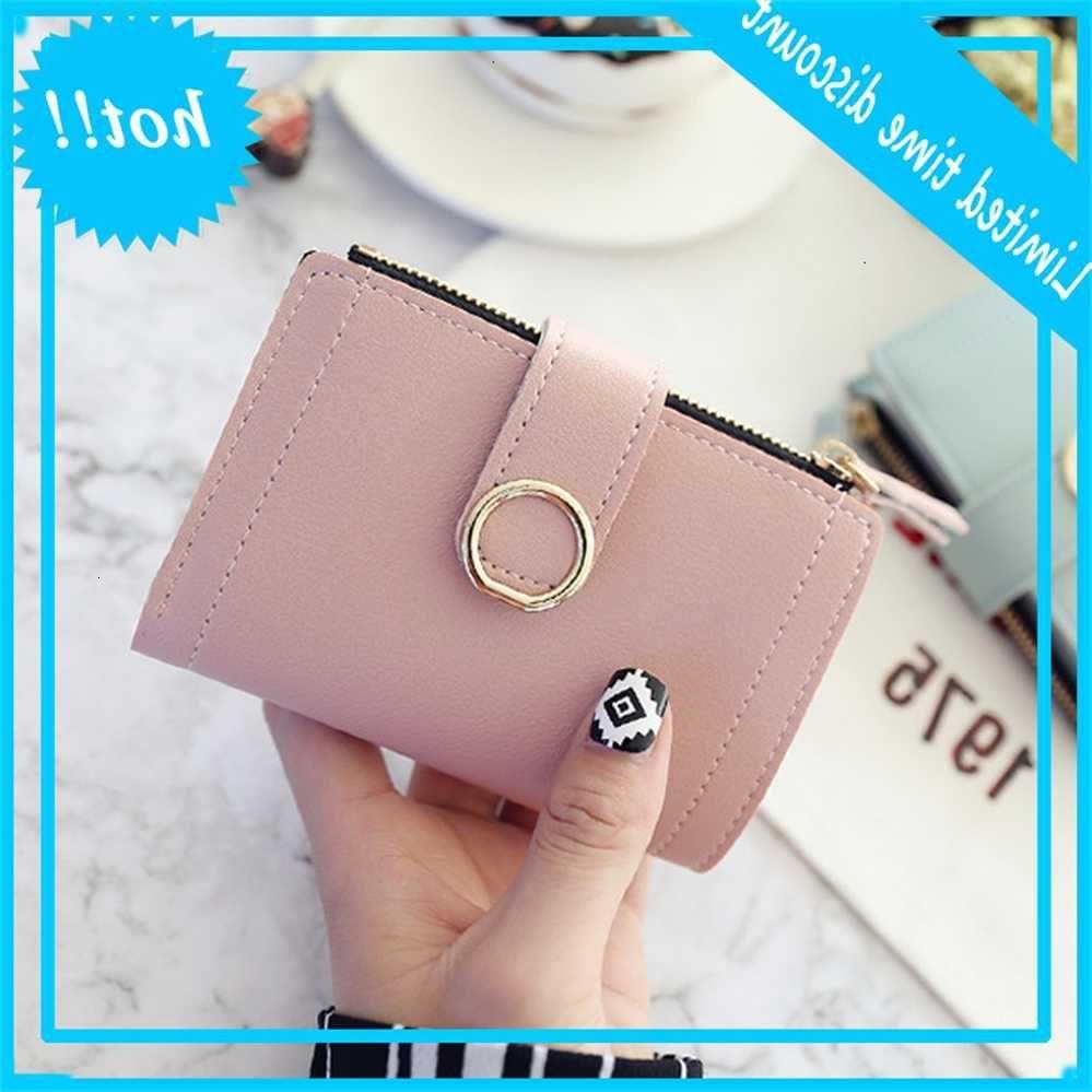Портфолио маленькая мода бренда кожаная карта сумка для женщин 2020 сцепление женские кошельки деньги клип кошелек