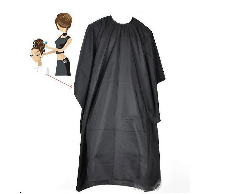 Adulto Haircut Panno Ingrandito Adulto Taglio per capelli Panno 140 * 90cm Nero Anti inquinamento Panni da barbiere Cucina Grembiule A2056