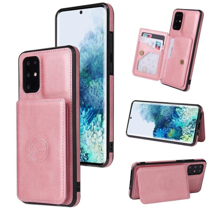 ID Card Slot Pack Wallet Leather Case For Iphone 12 Pro MAX 12 Mini 12 11 XR XS MAX 8 7 6 Plus SE2 Support Magnetic Car Mount Holder Cover