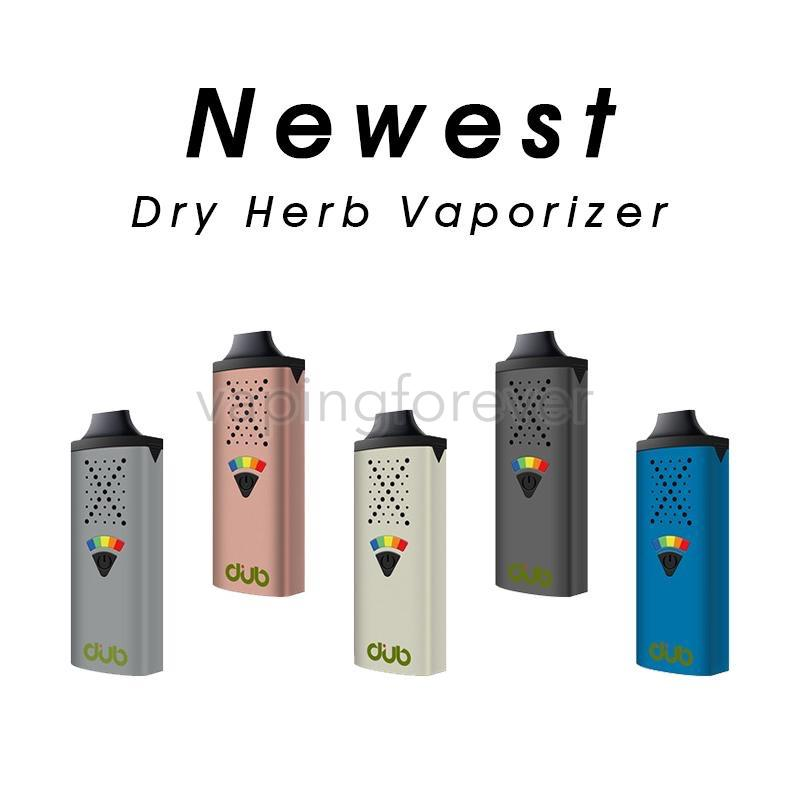 Newest G9 Greenlightvapes DUB Dry Herb Vaporizer With Magnetic Suction Nozzle Never Hot 1100mAh Battery 1.3ml Chamber Five Level Temperature