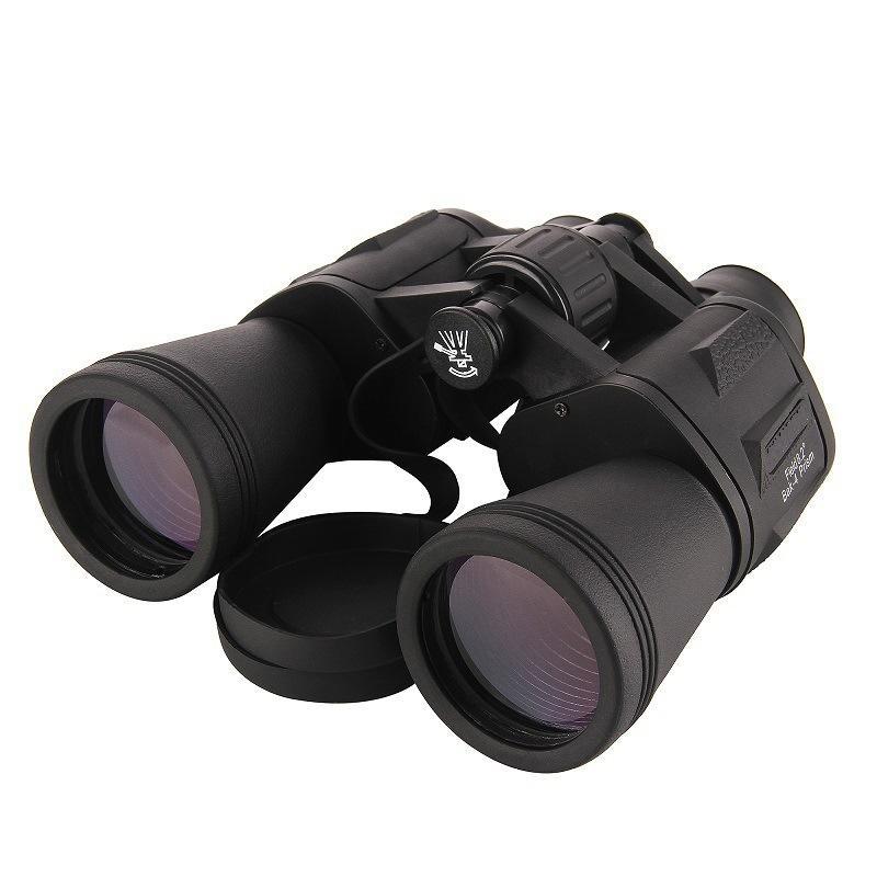 20x50 BaK4 prisma Porro Binocular Professional portátil Telescópio Para Camping Caça vivo Waterproof Night Vision Binóculos T190627