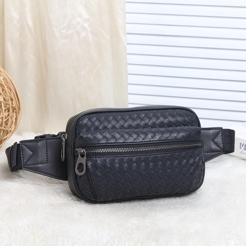 Талия сумки Kaisiludi кожаные косы мужской груди сумка 2021 Fanny Pack модный наклонный обернут восковая воскружный молодежный досуг телефон