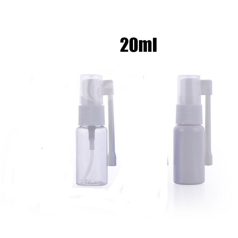 20ml rotação vazia plástico Bomba Nasal Spray Bottle Nequete 300pcs / lote
