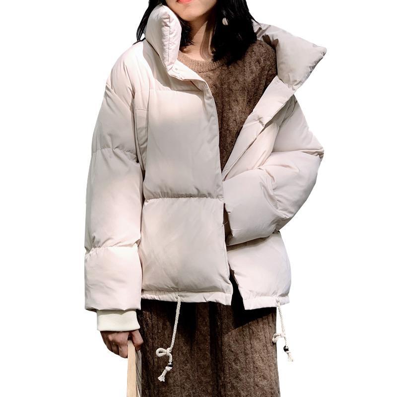 2020 Winter Women's Parka New Korean Short Candy Candy Colors Cotton Abbigliamento Oversize Moda Cappotto di moda Signore Down Giacca Tide G587