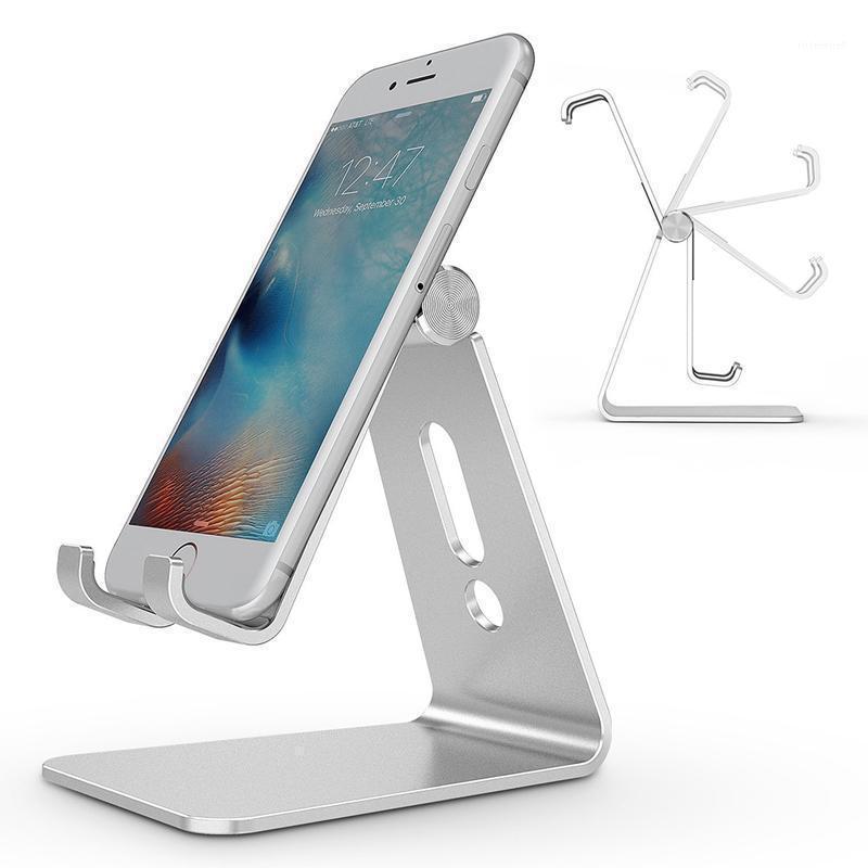 Titulares de teléfonos celulares Titulares Universal Soporte de escritorio Monte en el soporte antideslizante Teléfonos móviles Soporte de escritorio para Smart Stand1