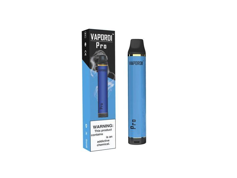 100% originale VAPORDI PRO Verification Kit Pod monouso 1100mAh 6ml cartuccia preriempita 1700 sbuffi vape vuota penna autentica