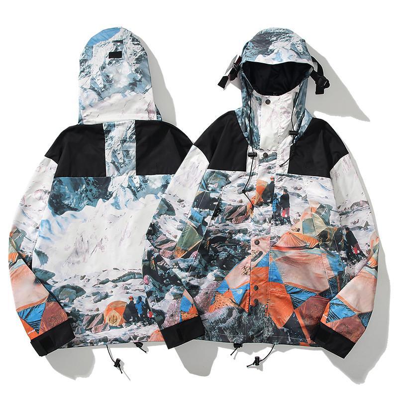 Moda modello Mens Giacche Lettera stampa Patchwork Sunscreen Cappotto sottile Cappotto a vento Giacca di lusso Donne Donne Giacca da donna Dimensioni M-2XL x2077