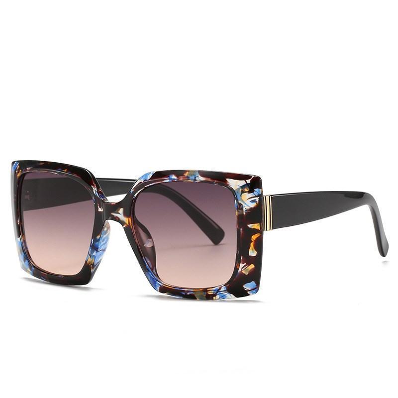 Óculos de sol 2021 Fashion Square Mulheres Vintage Shades Homens Marca Design Luxo Sun Óculos UV400 Oversized Eyewear