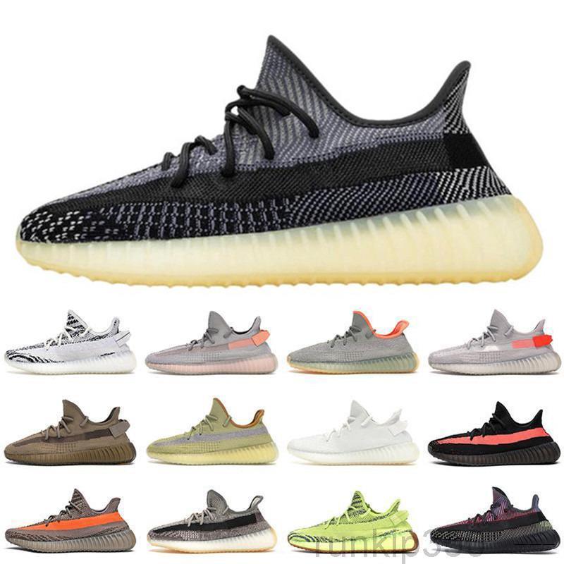 En İyi Kalite Keten Asriel Kanye Rahat Ayakkabılar Abez Yansıtıcı Elada Moda Yekeil Statik Gid Glow Zebra Erkek Bayan Tenis Eğitmenleri NXX1