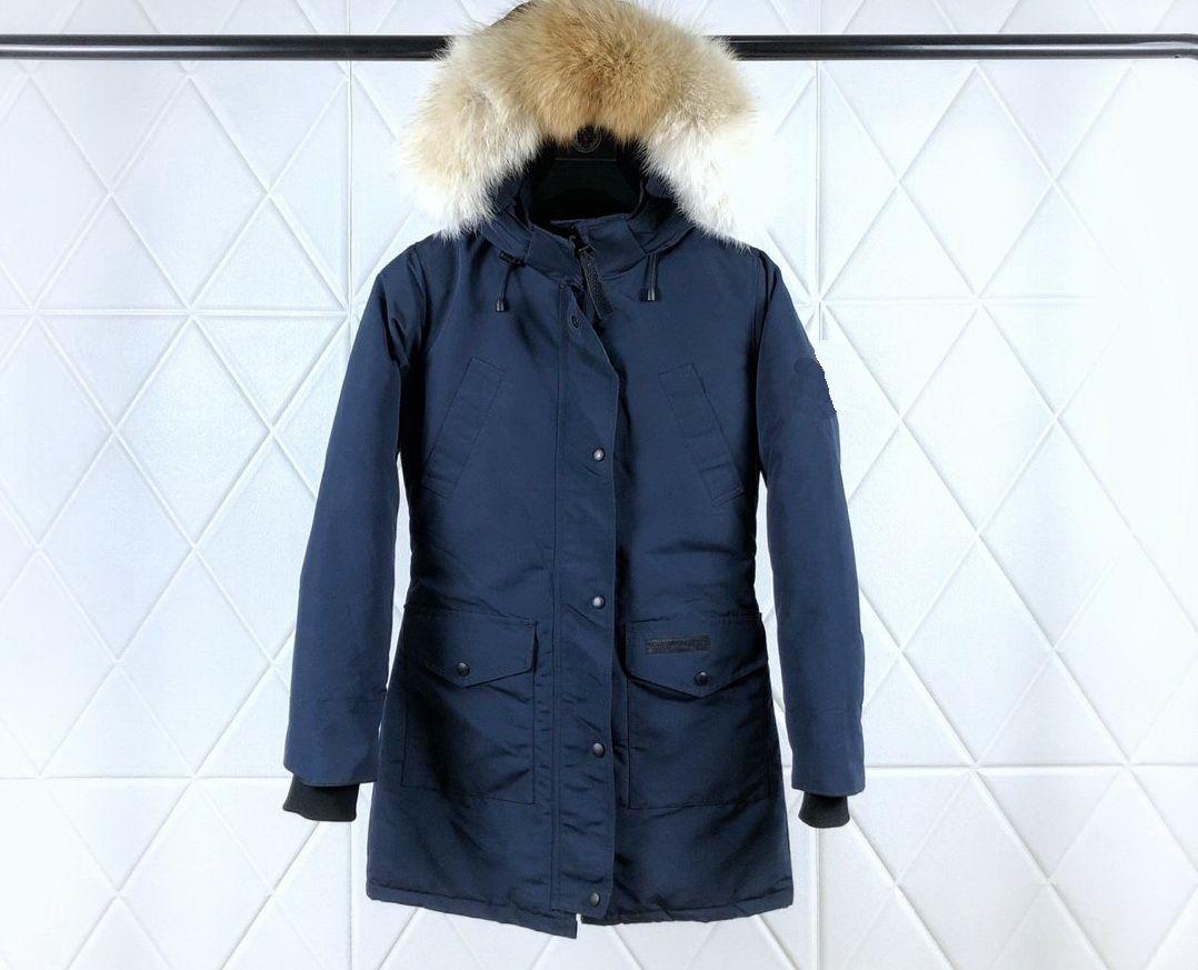 Kadınlar Uzun Aşağı Ceket Aşağı Kış Ceket Kürk Kışlık Ceket Ile Puffer Ceket Sıcak Kıyafet Ourdoor Giysileri Palto Yüksek Dereceli Giyim-5