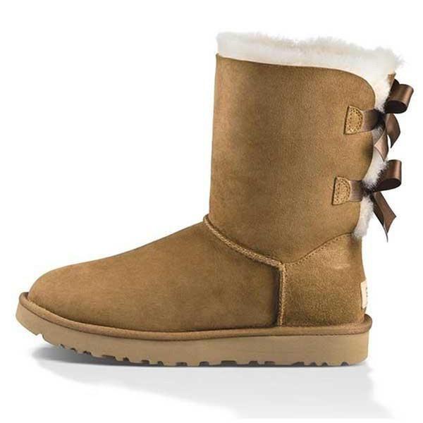 Donne stivali da neve triplo nero castagna castagna marrone rosa navy blu grigio rosso moda classica caviglia corta stivaletti da donna scarpe invernali scarpe invernali 54321