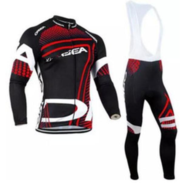 Pro Team Велоспорт Одежда Длинные рукава Осень Весна Mem Велоспорт Джерси MTB Bike ROPA Ciclismo Cycle Sportswear Set
