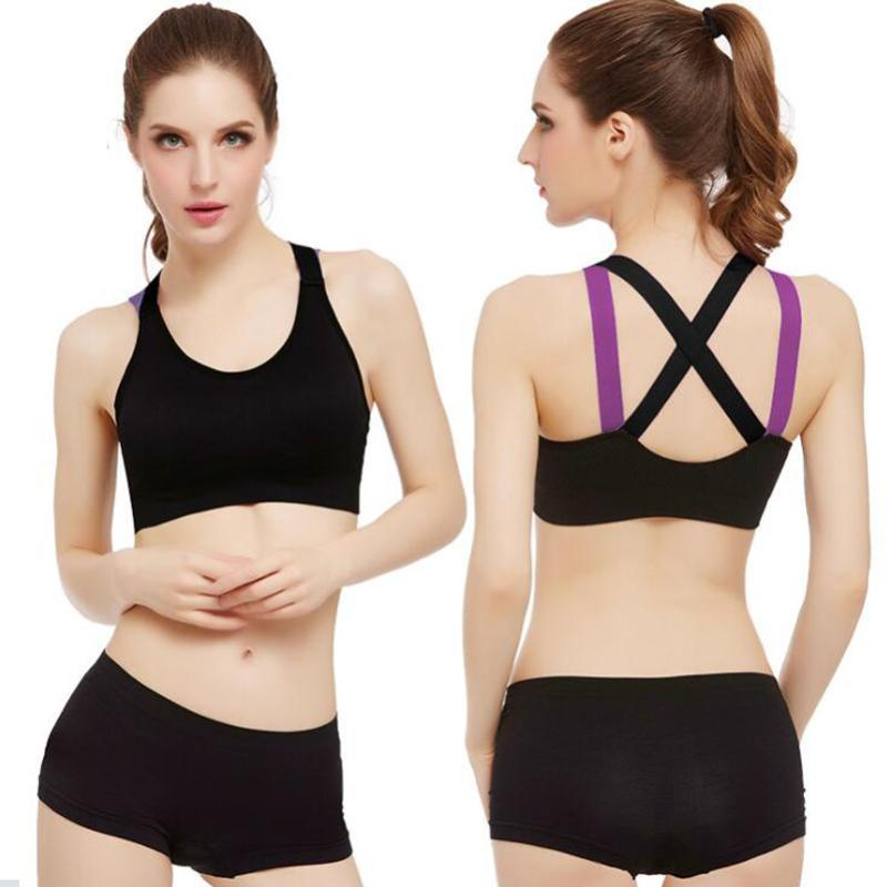 Sports Bras for Women Seamless High Impact Support Bra for Gym Yoga Fitness Top Female Underwear Push-up bra Sportswear bralette