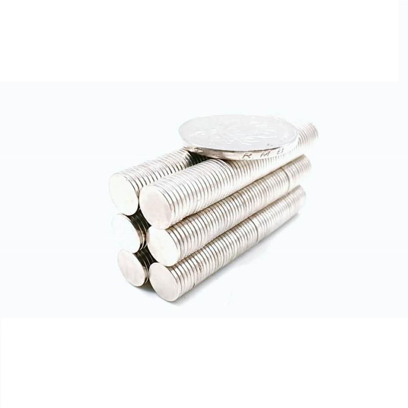 2021 Real Imanes de Nevera 100 шт. 8 x 1 мм Магнитный диск спеченный NDFEB Учение D8 * 1 Супер сильная редкая Земля 8x1 Неодимовые магниты