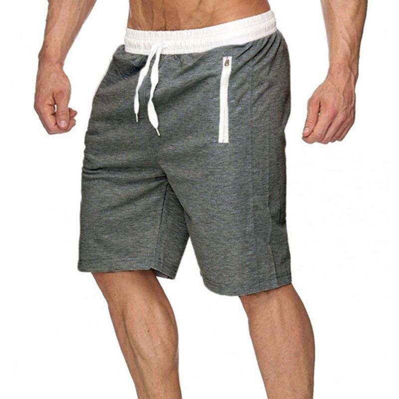 Mens Gym Training Shorts Hommes Sports Casual Vêtements Entraînement Fitness Entraînement Running Grid Sécression rapide Compression Compression Athlétisme