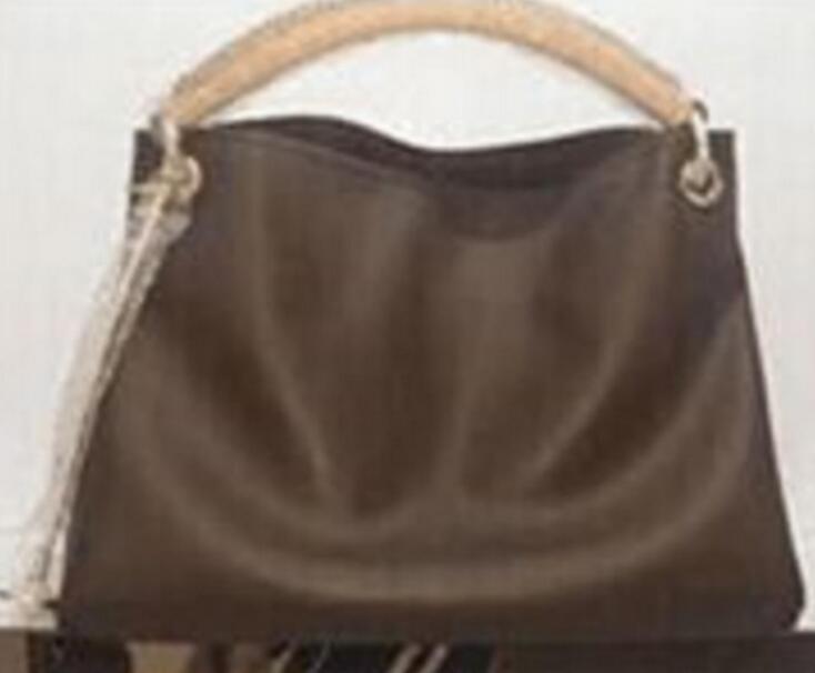 Qualität oxidize Leder Künstler Womens berühmte Taschen Taschen 2021 Frau Marke echte Geldbörse Leder Azur Handtasche Handtaschen Damier Designer Bag 41 * 1 CCRF