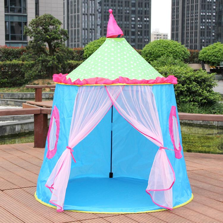 [TML] 120*110cm indoor Game Room Colorful Yurt children tent Kids Playhouse Princess castle Play house travel tent outdoor toys