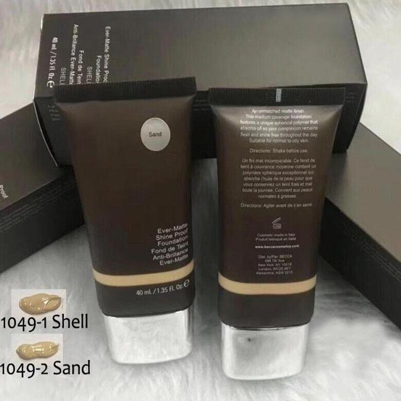 Горячая распродажа основание для макияжа когда-либо матовое сияние доказательство фундамент песка и оболочки BB крем в наличии