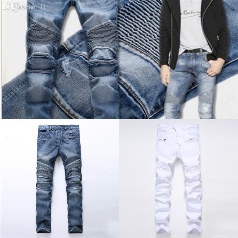 MDQes Solid Vintage Dritto Dritto Jeans da uomo di alta Qualità Primavera uomo Skinny Jeans Jeans Pantaloni Jeans Pantaloni uomo Casual Denim Harem Pants