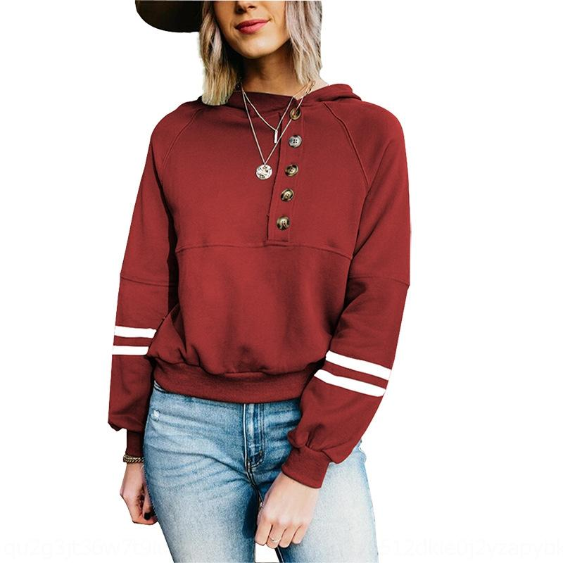 QKBF Neploe Allentati Casual Vintage a strisce TAES Basic T Shirt a maniche lunghe Donna T-shirt da donna T-shirt Harajuku 39313 Top lungo Streetwear