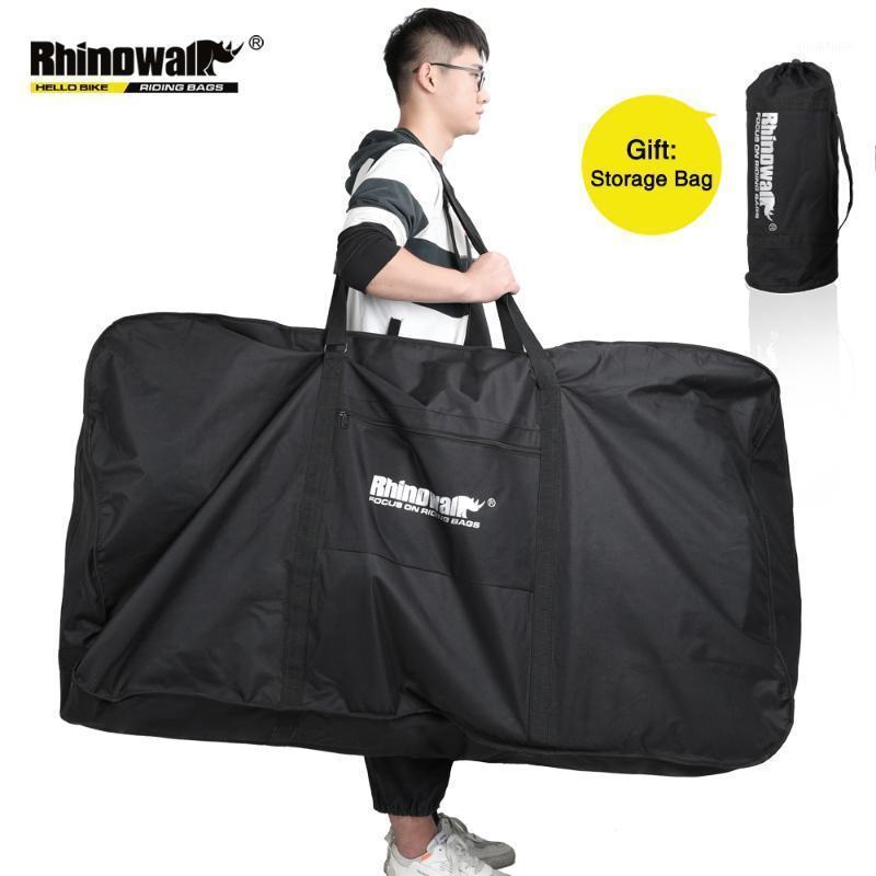 Автомобильные грузовики стойки Rhinowalk складные велосипедные сумки для велосипедов для 26-29 дюймов портативный велосипедный велосипедный велосипед