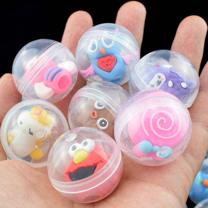 Atacado 32mm cápsula brinquedos mini figuras modelo brinquedo bebê crianças presentes de natal muitos estilos misturados