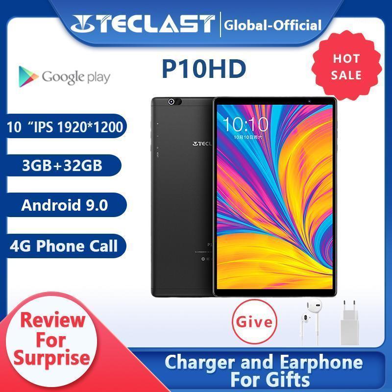 Tablet PC Teclast P10HD 4G Phone Call Octa Core 3GB RAM 32G ROM IPS1920*1200 SIM Android 9.0 OS 10.1 Inch GPS 6000mAh1