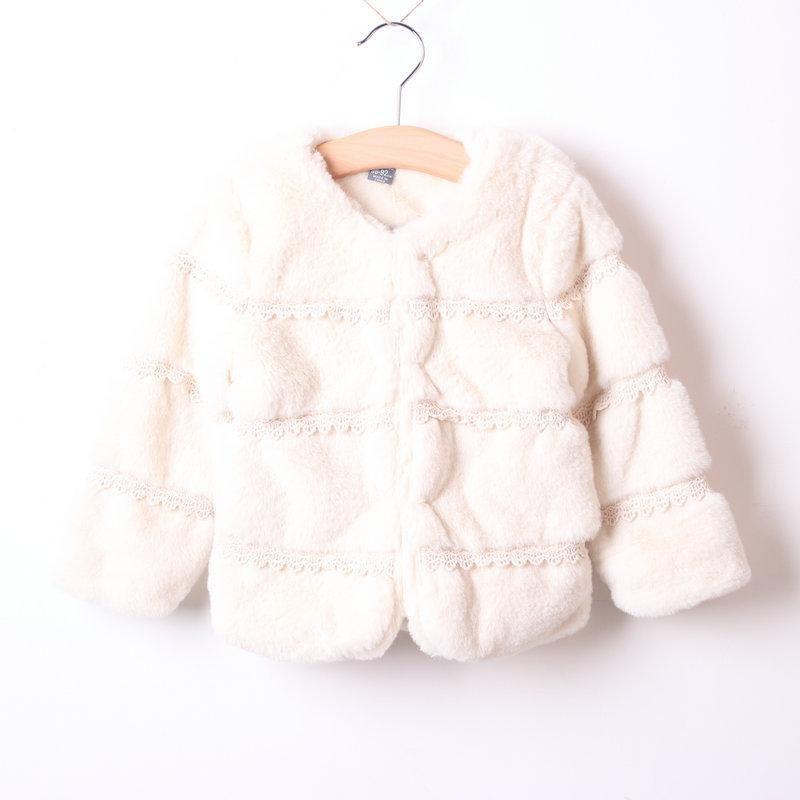 Vestes jkp girl imitation artificielle fourrure peluche peluche épaississement épaississant boucle foncée chaude mode FPC-66