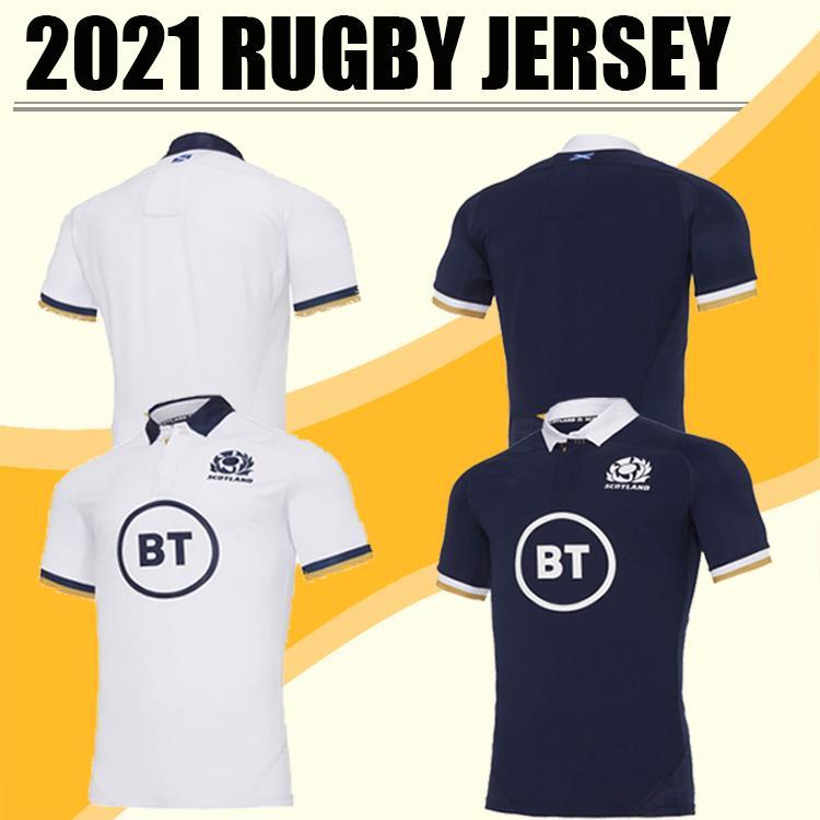 En iyi Kalite 20 2021 Ev Yeni İskoçya Rugby Formalar 20 21 Ulusal Rugby Ligi Galler Rugby Formalar Kırmızı Erkek Boyut S - 5XL