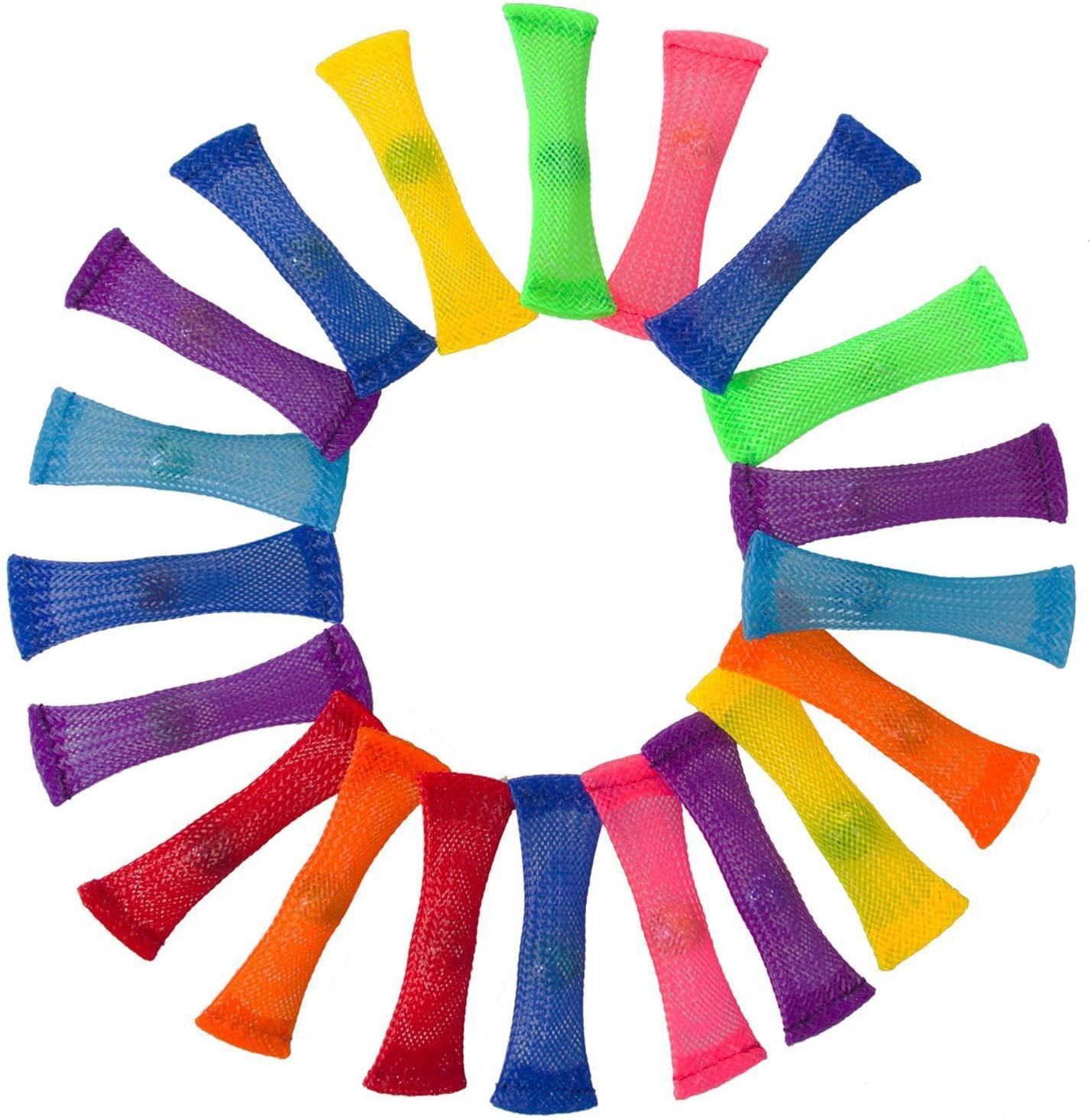 شبكة الرخام تململ لعبة أنبوب للبالغين أطفال في المدرسة ADHD إضافة الرخام القلق OCD والشبكات إصبع اليد تملأ