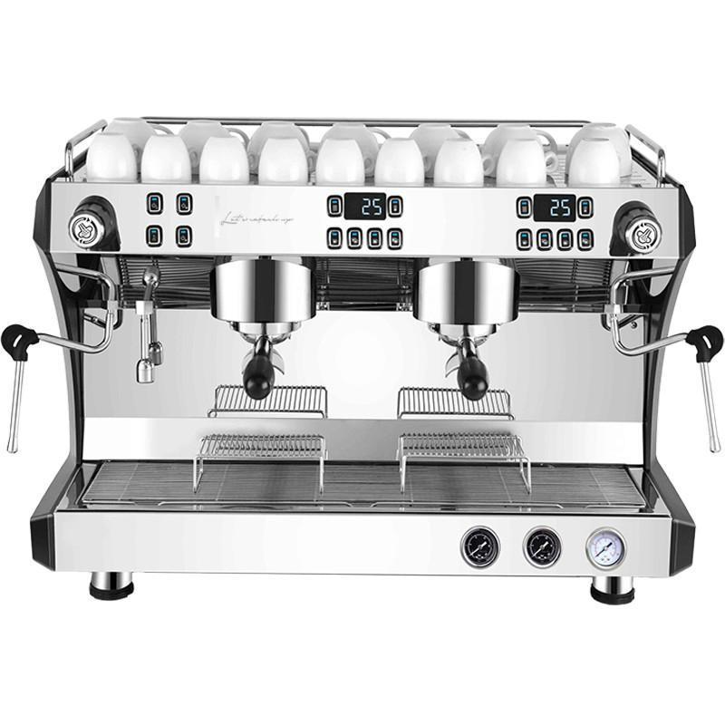 Коммерческая кофемашина итальянского полуавтоматического парового двойного оборудования
