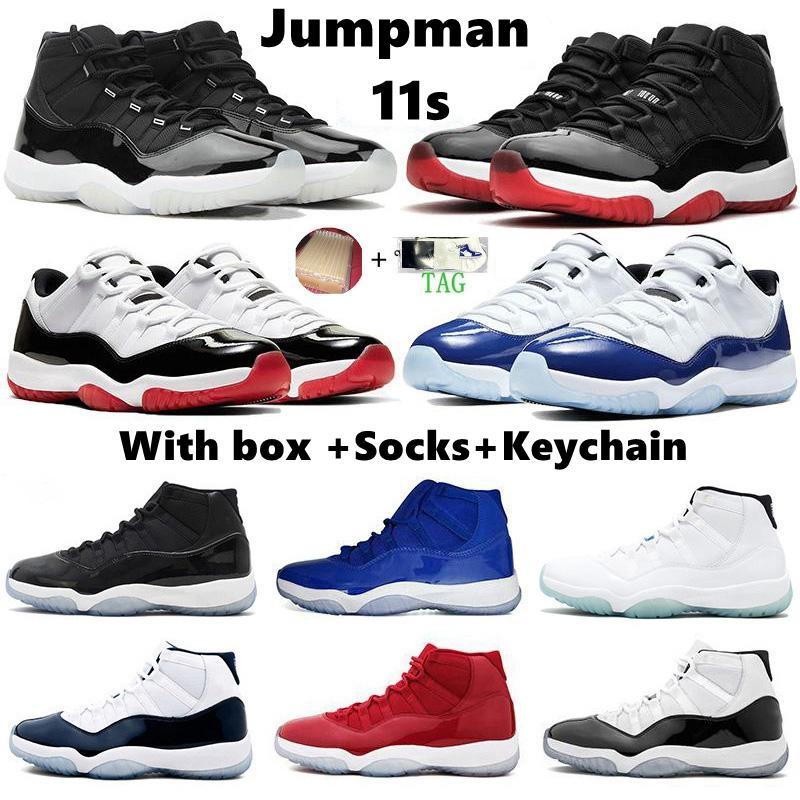 2021 юбилей 25-летие 11 мужчин баскетбольные туфли Concord Concord Space Jam Gamma Blue 11s Jumpman мужчины женщин спортивные кроссовки кроссовки