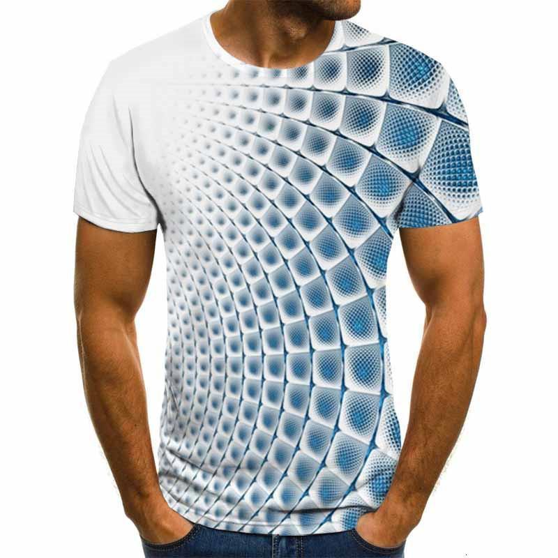 Летняя трехмерная вихревая футболка для мужчин женщин мода 3D футболка с коротким рукавом harajuku хип-хоп милая футболка