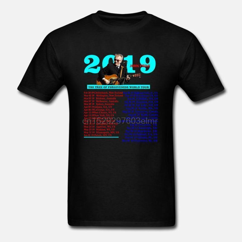 Camisetas para hombres John Prine Tour 2021 Concierto Camisa Tamaño S-5XL Jóvenes infantes1