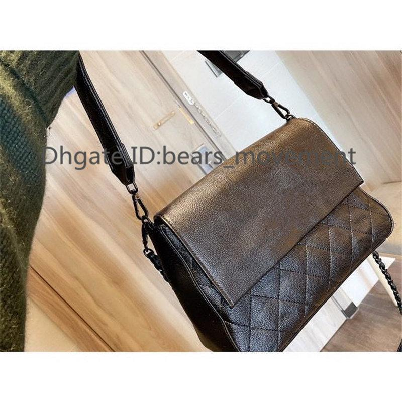2020 letra simples diamante lattice senhora moda bolsa de ombro hasp macio vintage interior zíper bolso bolsas de moda