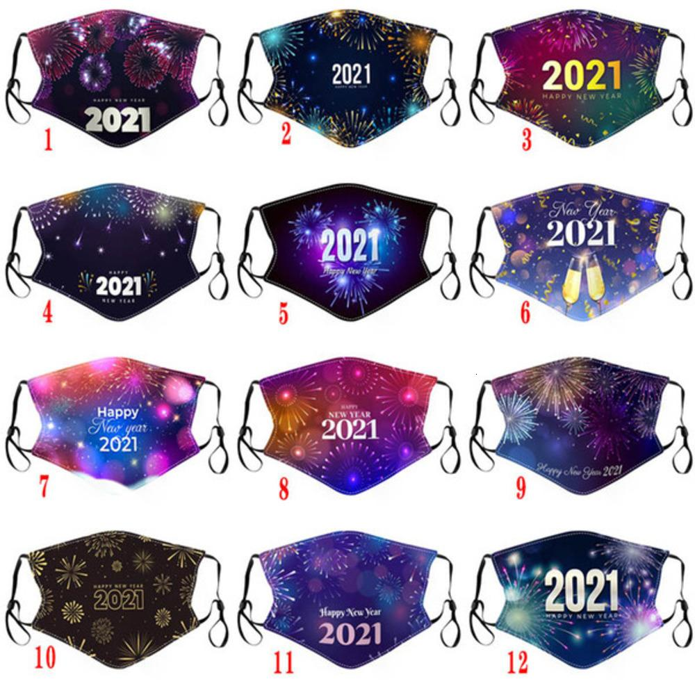 Erwachsene 2021 Neue Kinder Baumwollmasken Staubfest Waschbare Tuch Gedruckte Gesichtsmaske GGF3823Ec6