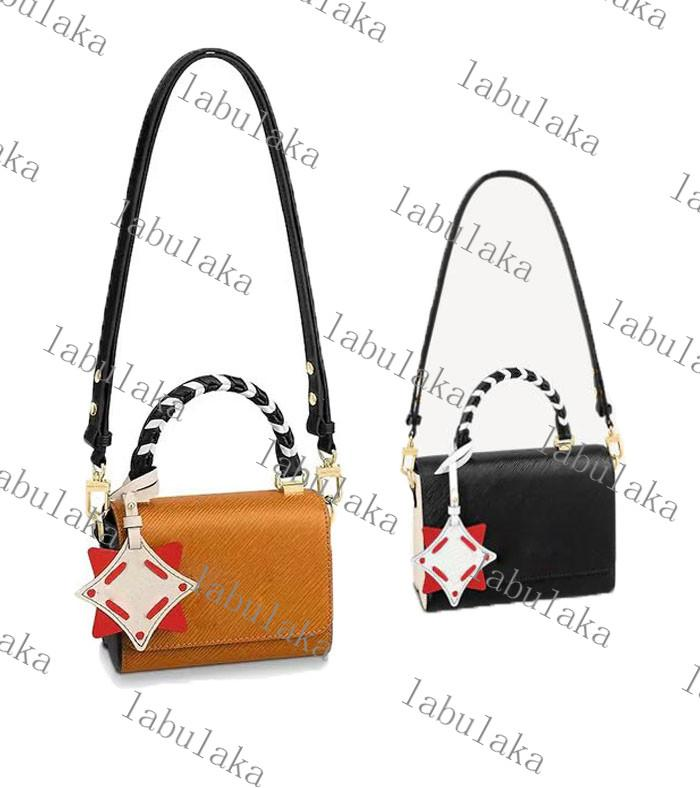 New hot sale CRAFTY TWIST high quality luxury designer bag handbag leather shoulder bags Crossbody Bag handbags purseM56849