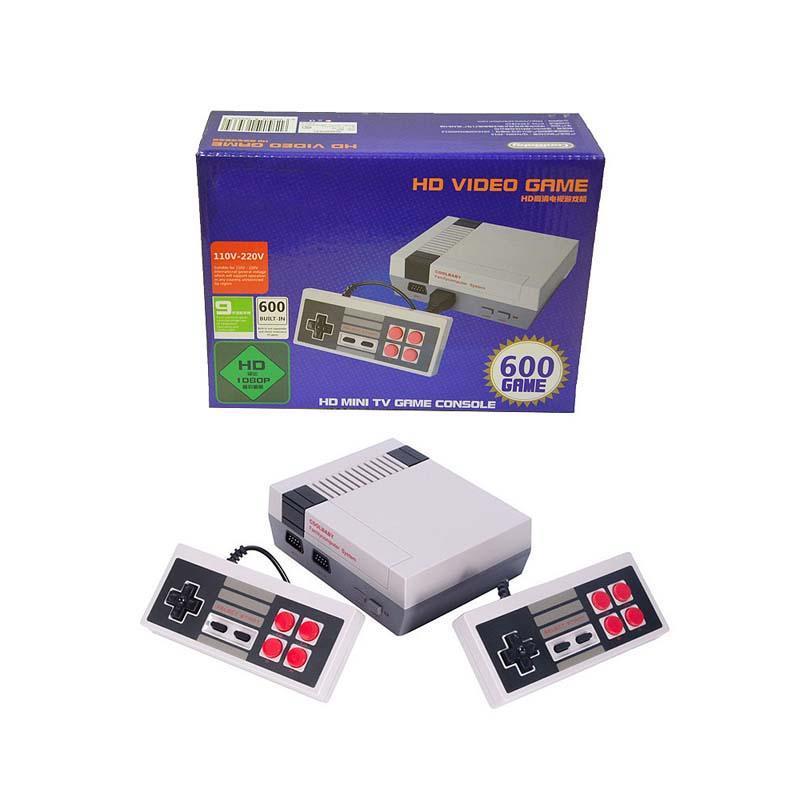 HDMI Game Console HD Video Handheld Mini Classic TV para 600 NES Games Consolas Controller Joypad Controllers con paquete minorista