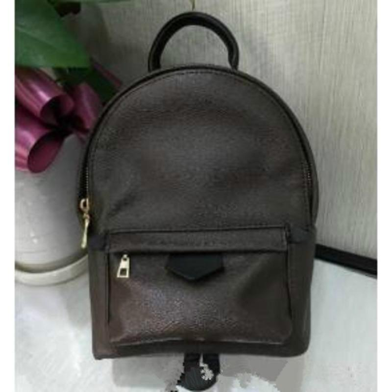 Top Quality Women's Bags Printing Leather Children Mini Women Genuine Student Backpack Leather School Bag Mini Travel Crossboby Backpac Dnco