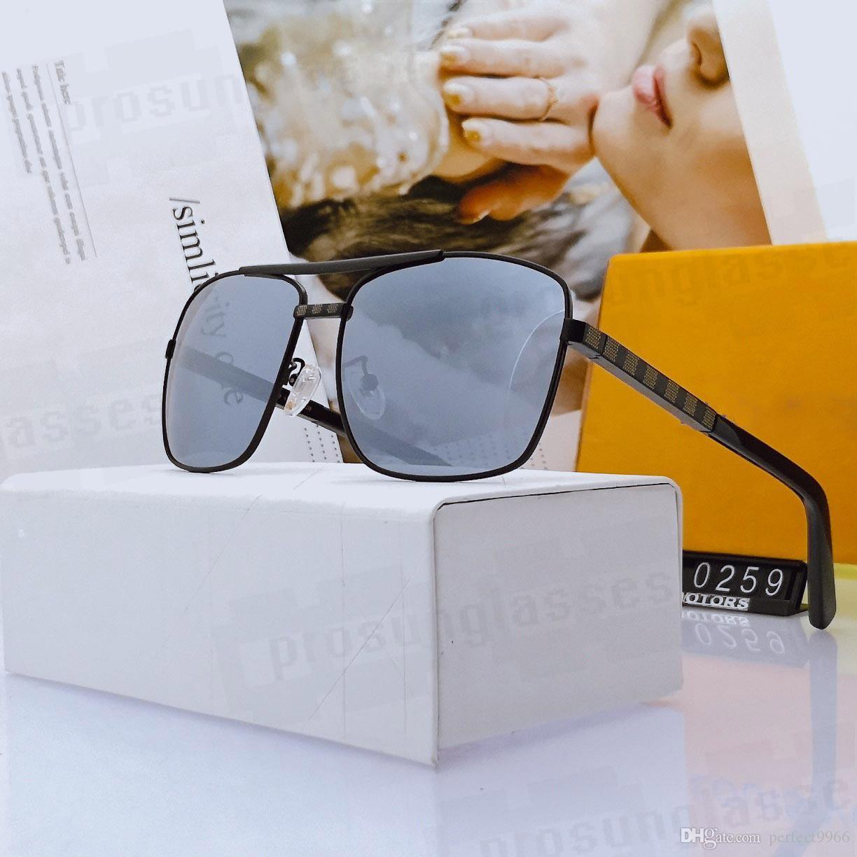 2020 New Fashion Desinger Sunglasses Attitude Attitude Occhiali da sole Donne Occhiali da sole Desiger Top Quality 0259