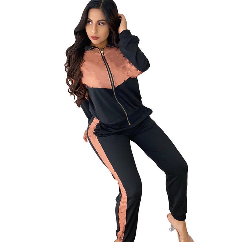 Abiti da due pezzi Designer Designer Donne Sweatstasuis Jogger Suit Ladies TrackSuits Fall Winte Vestiti Manica lunga con cappuccio + Leggings 2XL Sportswear 3943
