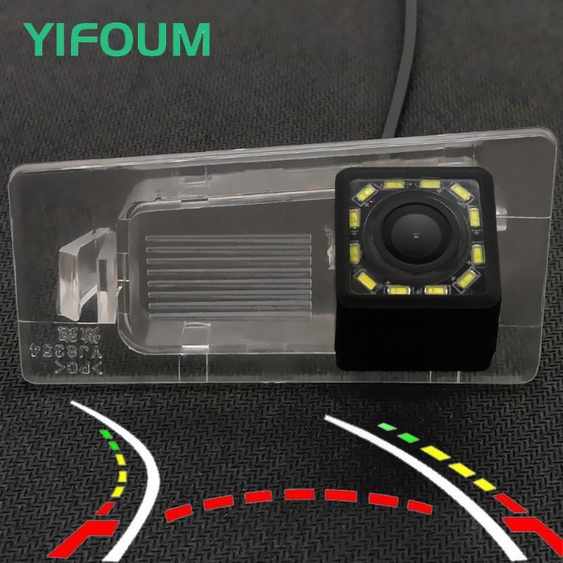Yifoum HD Dynamic Trajectory المسارات سيارة كاميرا الرؤية الخلفية لكيا KX3 Ceed Cerato Forte / Elantra Avante Solaris Sedan HCR