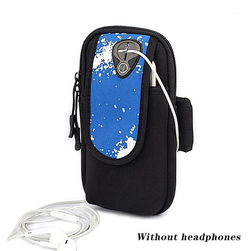 스포츠 팔 팩 폴리 휴대 전화 케이스 손을 잡고 체육관 실행 가방 팔 벨트 휴대 전화 가방 (6.5 인치) 스크린 1