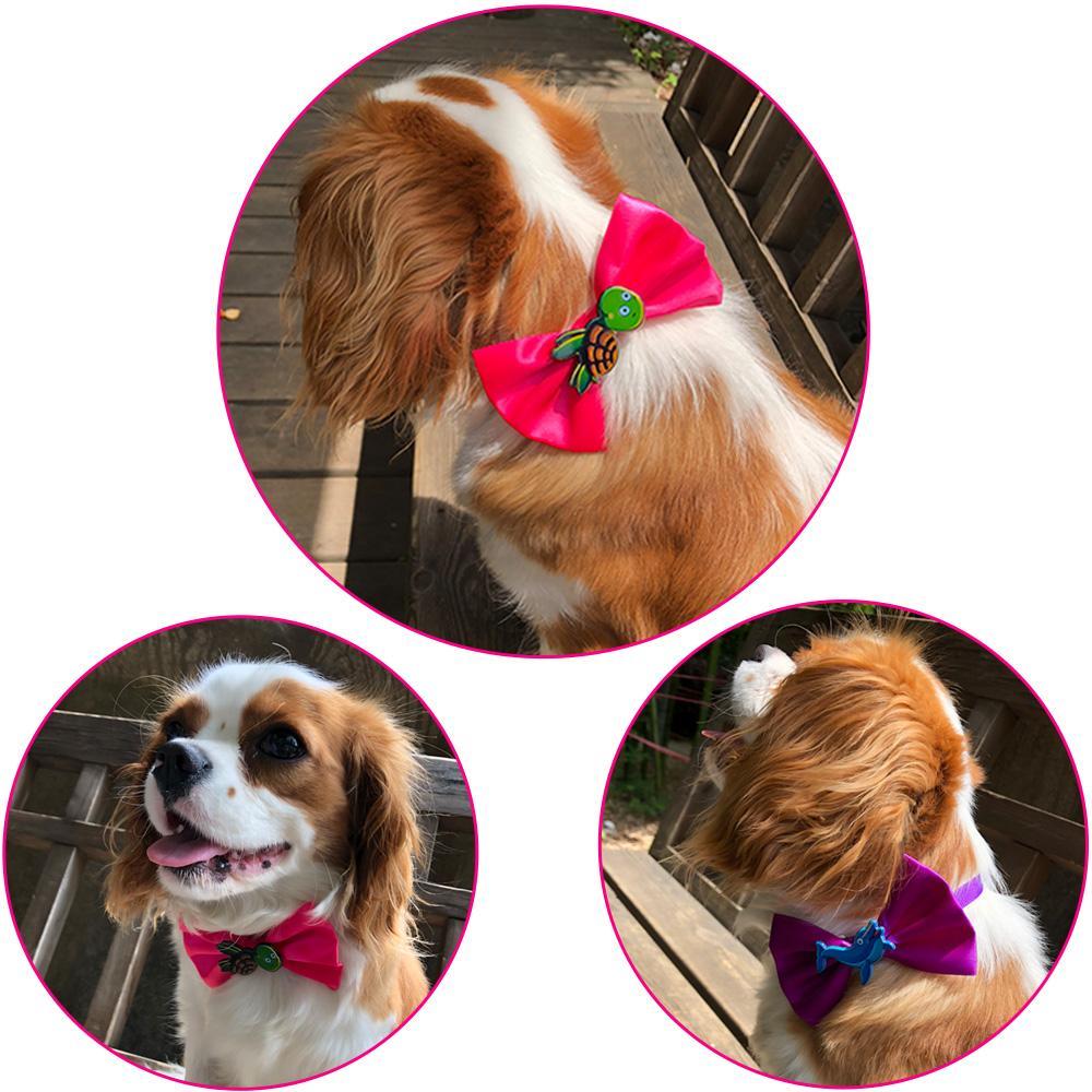 Accessori per toelettatura per cani regolabili multicolor per cani Forniture per vacanze DHL Cat Dog Bow Tie