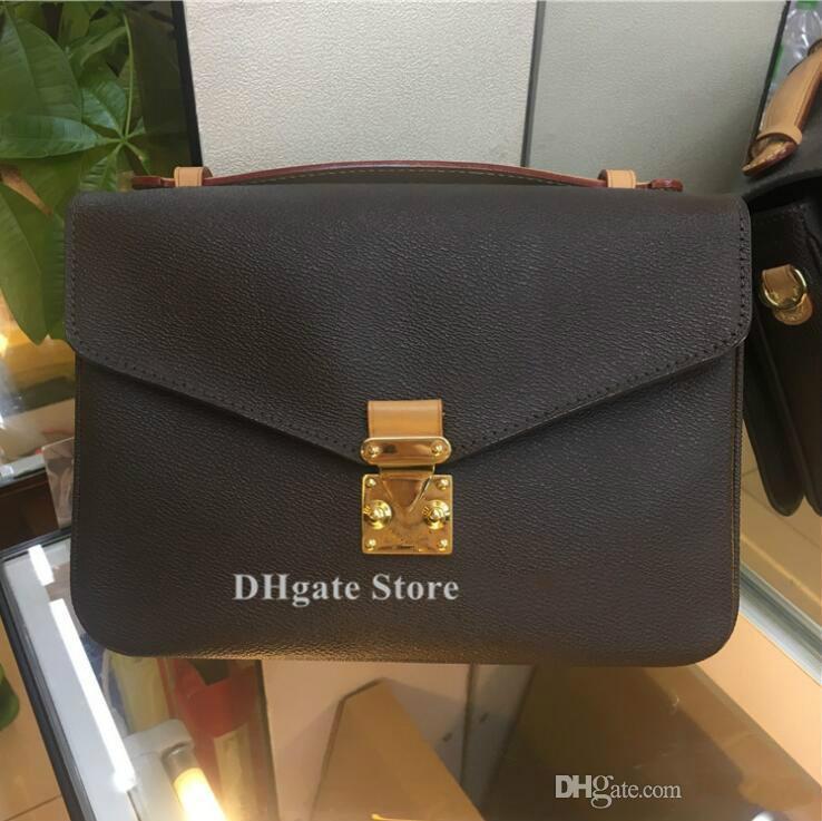 Moda kadın çantası çanta omuz çantası messenger çapraz vücut tote çanta deri tarih kodu çiçek